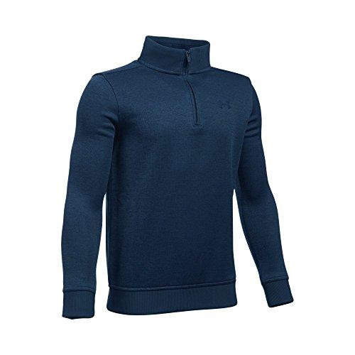 Boys Quarter Zip Sweater (Under Armour Boys' Storm SweaterFleece 1/4 Zip, Academy/Academy, Youth Large)