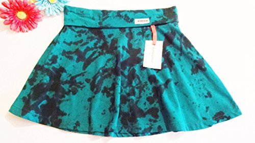 "Be Everything! ""Joyous"" Size Medium Hand-Dyed Jersey Cotton Maxi Skirt"