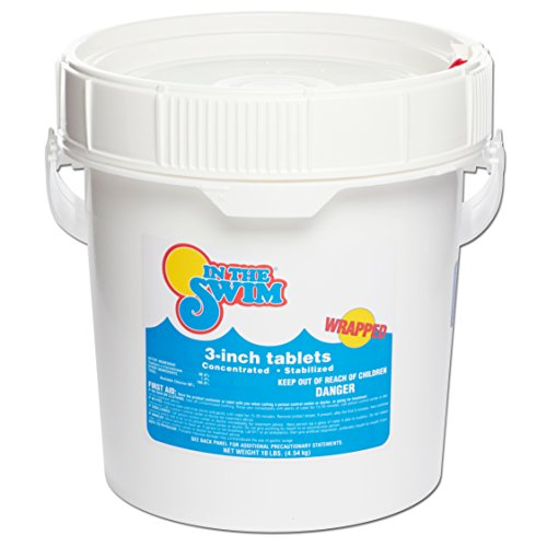 In The Swim 3 Inch Swimming Pool Chlorine Tablets 10 Pounds (Best Swimming In Texas)