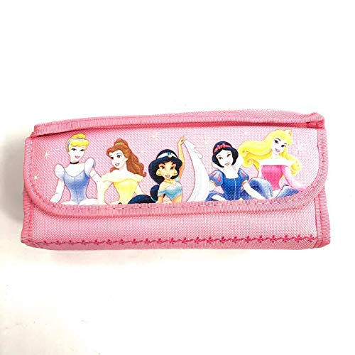 - Officially Licensed Disney Single Zipper Pouch Light Pink Pencil Case - Princess