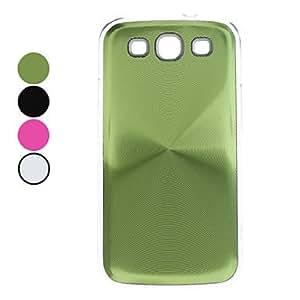 GONGXI-Caso Shimmering duro para Samsung I9300 Galaxy S3 (colores surtidos) , Color Plata