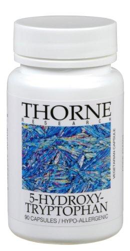 Thorne Research - 5 Hydroxtryptophan - 90 Capsules [Santé et beauté]
