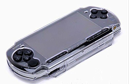 Vivi Audio Protector Clear Crystal Travel Carry Hard Cover Case Shell for Sony Sony PSP 2000 3000 (Psp 3000 Crystal)
