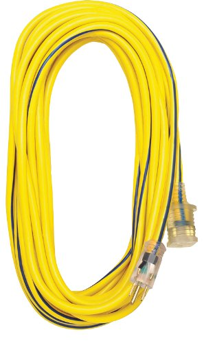 Amazon.com: Voltec 05-00365 12/3 SJTW Outdoor Extension Cord with ...