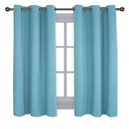 NICETOWN Window Treatment Thermal Insulated Solid Grommet Room Darkening Curtains/Drapes