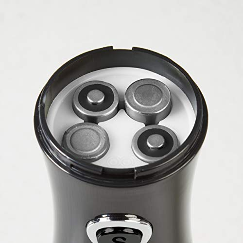Tower Duo Electric Salt/Pepper Mill, Black