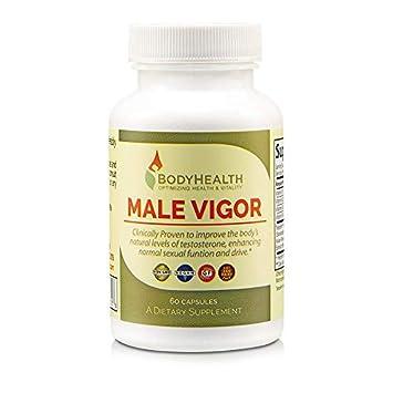 Amazon Com Male Vigor Men S Testosterone Booster 60 Capsules