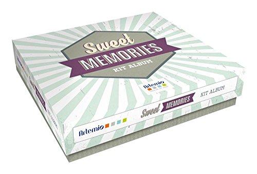 Artemio Sweet Memories Kit Album Scrapbooking, carta,, 24 x 6 x 22 cm 24x 6x 22cm Artémio 11002340