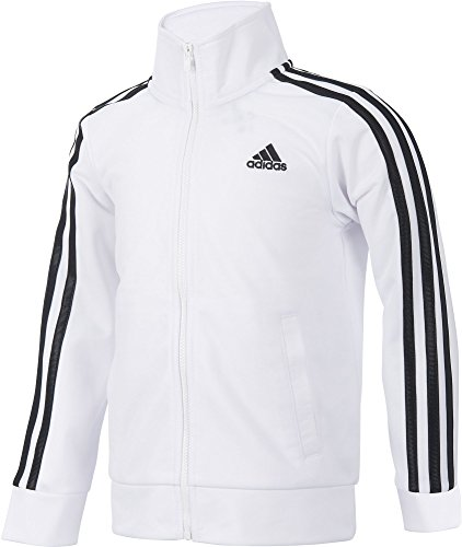 Tricot Jacket (White/Black, S) (Black White Jacket)