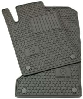 Black All Weather Heavy Duty Floor Mat Set Waterproof Stain-Resistant MICOOS Compatible with Car Floor Mat Carpet for Mercedes-Benz E-Class 2009-2016 W212