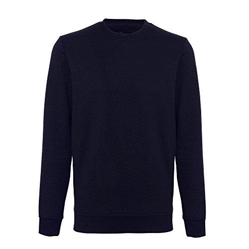 moda Felpa blu navy uomo trapuntata abbordabile Claredale ttPRw01q