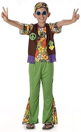 Disfraz Chico Hippie Niño 1960s 70s (Pequeño 3 -4 años): Amazon.es ...