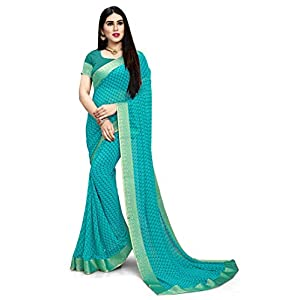 Oomph! Women's Georgette Sarees
