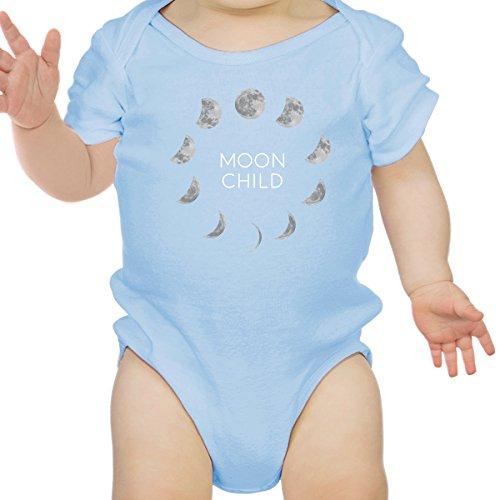 One 24 Mois 365 À Manches Sky 0 Blue Moon Body Courtes Printing garçon Bébé Child Size BTFvAqw