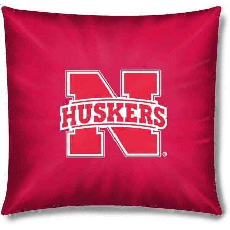 NCAA Nebraska Huskers Official 15'' Duck Toss Pillow by The Northwest Company