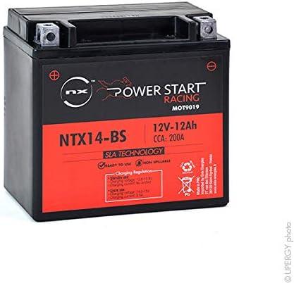 NX - Batería Moto YTX14-BS / NTX14-BS 12V 12Ah