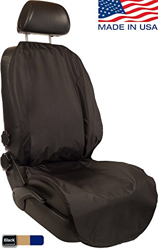 CleanRide&Trade;: Bacteria-Resistant, 100% Waterproof Car Seat Cover and Protector: Triathlon Beach Yoga Running Crossfit Sweat Workout (Odor-Resistant and Super-Compact) ()