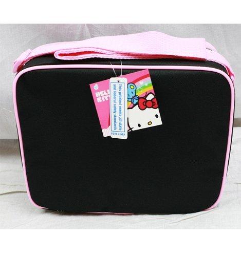 "Hello Kitty 16"" Large Backpack - Black Check Box"