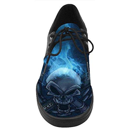 Shoes Tennis Cranio B Lace Up Uomini Costume Degli Scarpe Casual Dalliy Da wkP8On0XN