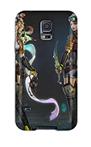 New Arrival Premium S5 Case Cover For Galaxy (women Warrior)