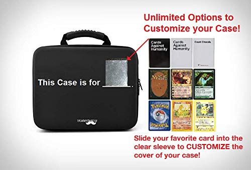 Portable Card Game Case for 2,200+ Cards. Compatible with Cards Against Humanity, MTG, Pokemon & More! (Extra Large) by CaseStache (Image #2)