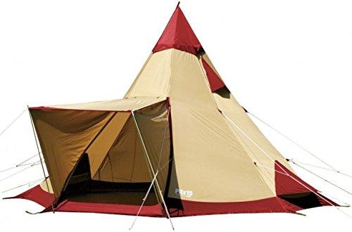 Ogawa Campal Pilz 15-II 8 Tent - 8 Person, 2 Pilz 15-II Red