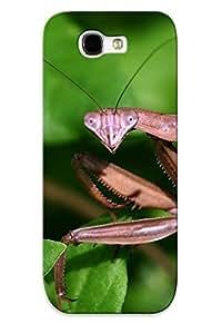 Srkapz-1593-ldvauoc Exultantor Animal Praying Mantis Durable Galaxy Note 2 Tpu Flexible Soft Case With Design