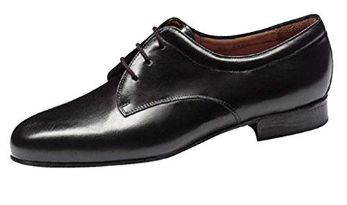 Shoe Mens Kern 28012 Ballroom Werner Black Leather TWFC1Ta