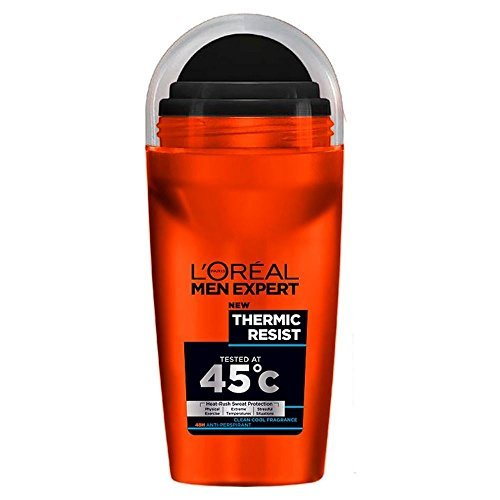 L'Oréal Paris Men Expert Deodorant Roll-On - Thermic Resist (50ml) - Pack of 2