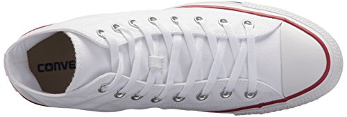 Converse As Hi Can Carboncino 1j793 Unisex Adulto Sneaker Bianco (bianco)
