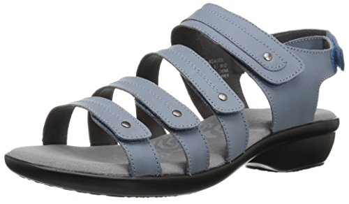 (Propet Women's Aurora Sandal, Denim, 10 Narrow US)