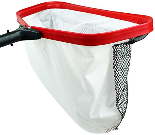 Pool Silt Net - ProTuff 100% Forever Guarantee - Heavy Duty Fine Mesh Silt & Sand Swimming Pool Skimmer Cleans Above Ground or Inground Faster than Vacuum - Nearly 18 inch Leaf Rake Bag (17 Inch)
