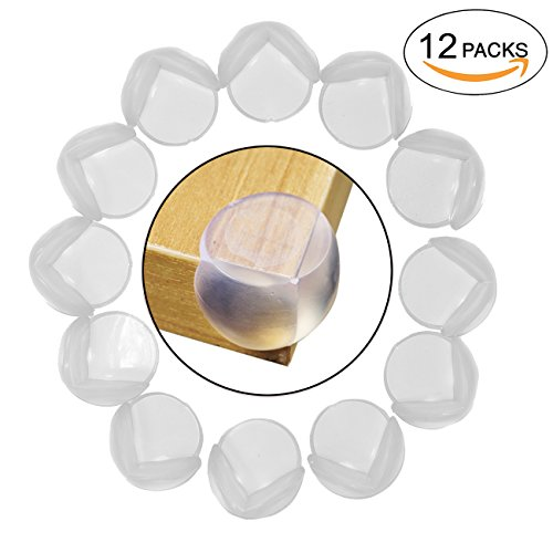 Price comparison product image Set of 12 PCS Secure Silicone Table Corner Edge Protection Pads For Children Furniture Protection