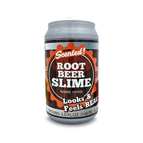 Magic time Interantional 5527434 2 Pack Soda Slime Root Beer & Lemon Lime, Multicolor
