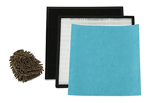 Oransi RFM80 Replacement Filter, HEPA and Carbon Filter Pack