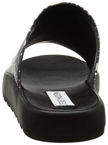 Steve Di Favore Black white Sandalo Madden COPqwx4