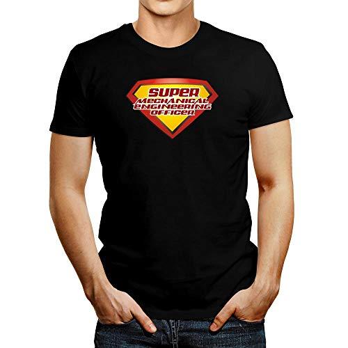 Idakoos Super Mechanical Engineering Officer T-Shirt L Black