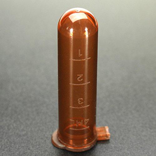 20Pcs 5mL Round Bottom Centrifuge Tube Graduated Brown Polypropylene EP Tube by krit lab (Image #5)
