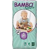 Bambo Nature Ekolojik Bebek Bezi No:4 Maxi 7-18 Kg 60 adet