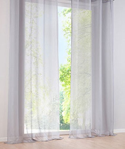 tab top curtains gray - 7