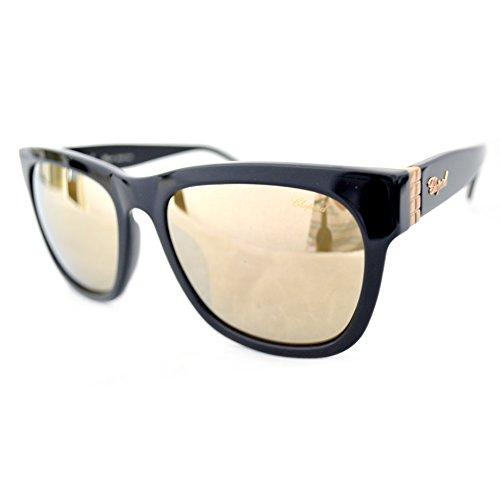 7d4a0dff95f87 Chopard SCH 165G Sunglasses Color BLKG Black Size 57MM