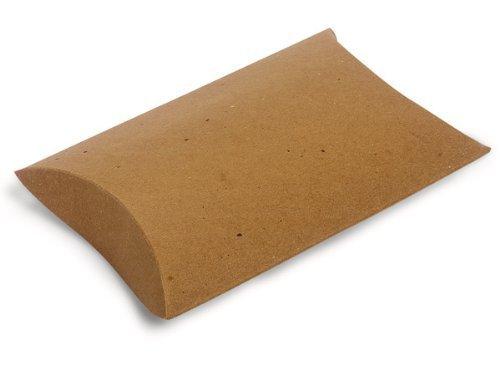 Nashville Wraps Pillow Box 12 Count - Kraft - Large by Nashville - Mall Nashville Stores