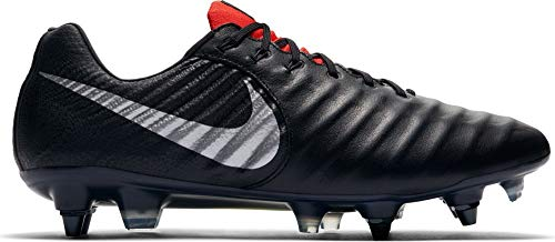 NIKE Adulto SG Fútbol Metallic de Lt Zapatillas Black Elite Legend 7 006 Pro Crimson Unisex Negro AC Silver rt8vrq