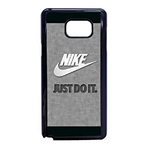 Samsung Galaxy Note 5 Cell Phone Case Black Nike logo AC8536447