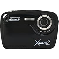 Coleman Xtreme II C12WP-BK 16MP Waterproof Digital Camera with 2.5-Inch LCD Screen (Black)