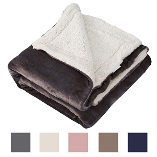 YWD HOME Sherpa Blanket Microfiber