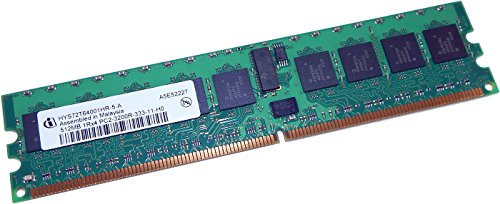 Infineon PC2-3200-333 ECC REG 1Rx4 DIMM 512MB Memory