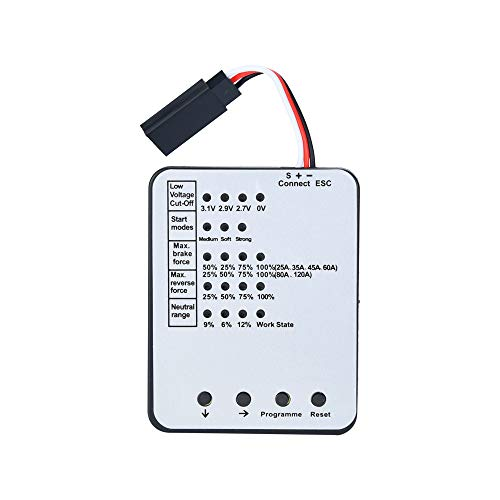Hot Sale!UMFun Programming Card For RC Car ESC Brushless Electronic Speed Controller