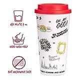 Paladone Friends Central Perk Coffee Cup Travel Mug