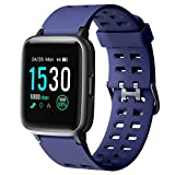Smart Watches 2019 Version,Arbily Smartwatch with Heart Rate Monitor Smart Watches for Android iOS Phone,Activity Tracking,Sleep Monitoring,Swimming,Sport Watch Fitness Tracker for Kids Women Men,Blue